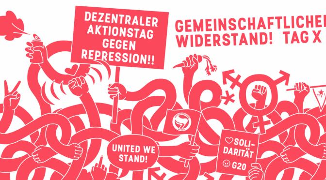 Kampagne Gemeinschaftlicher Widerstand! Aufruf zum TaG X